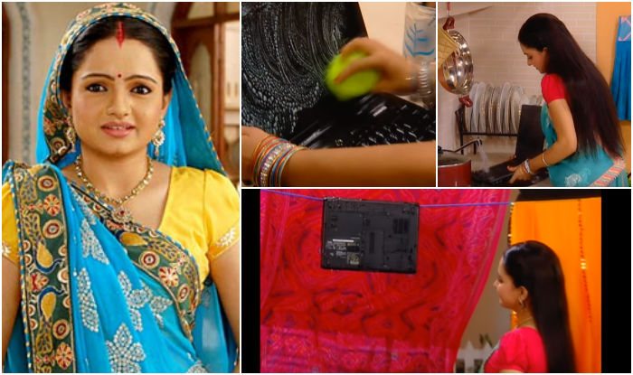 Bahu Washed Her Husband's Laptop With Detergent