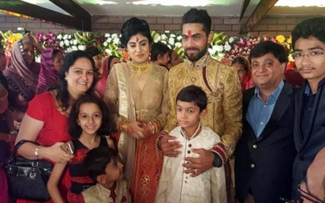 Ravindra Jadeja Engagement
