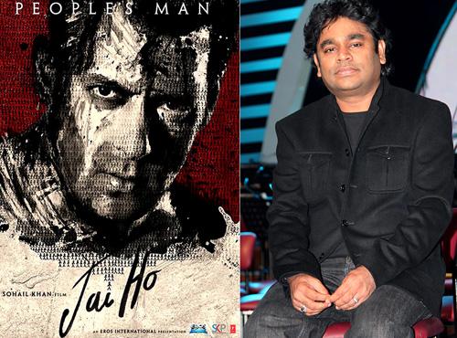 Salman Khan and A R Rehman