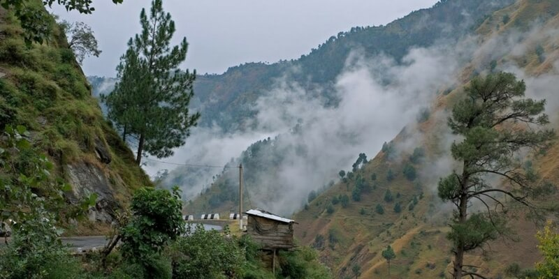Kasauli- beautiful hill station in india