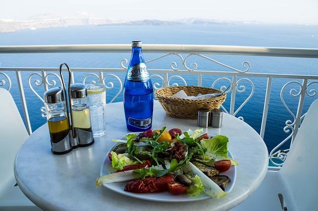 greece food and drinks