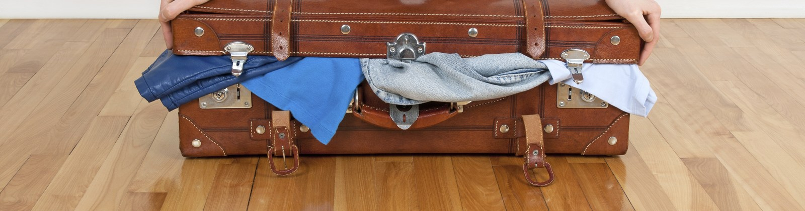 Never pack too much- travel packing tips
